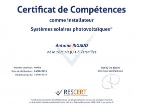 Oxira - Certification Qualiwatt